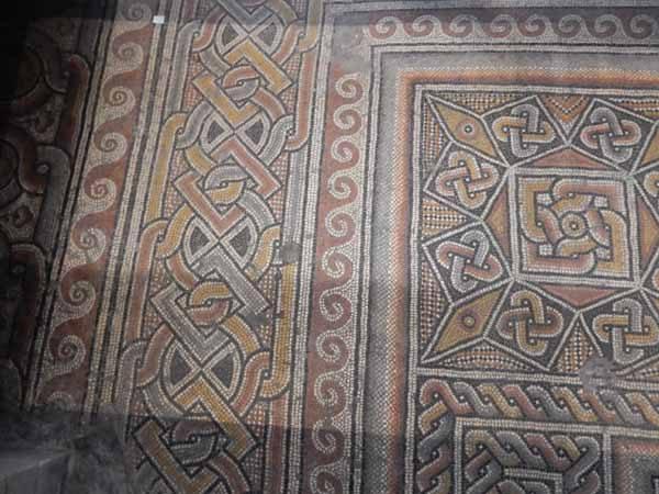 Nativity Church Original Mosaic Floor