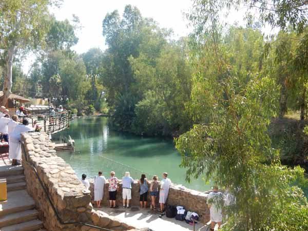 Yardenit Baptismal Site tour