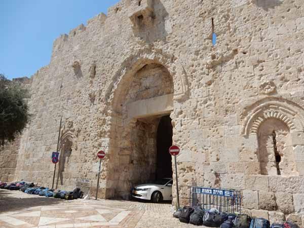 Zion Gate Jerusalem