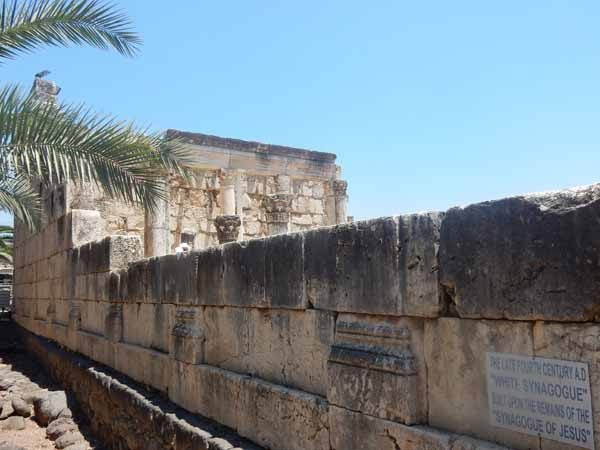 Synagogue at Capernaum tour